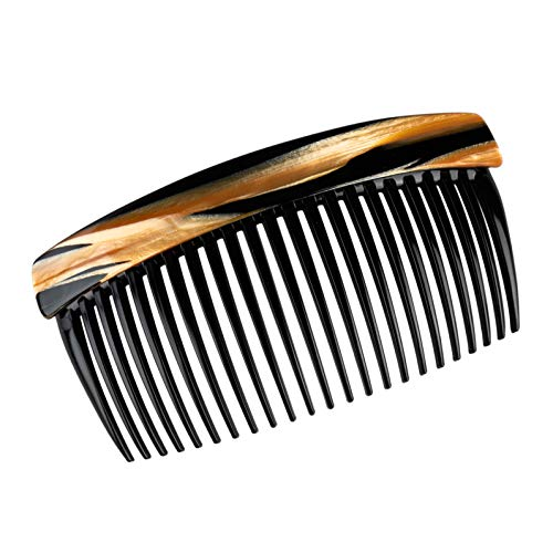 Charles J. Wahba Large Basic Side Comb - Tiger