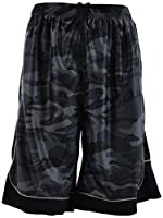 ChoiceApparel Mens Two Tone Training/Basketball Shorts Pockets (S up to 4XL) (L, 389-Charcoal)
