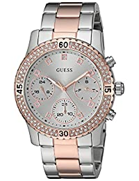 GUESS Women's U0851L3 Rose Gold/Bronze