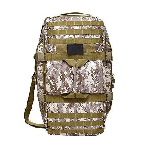 Yy.f Mochila Militar Táctica Paquete De Ataque Del Ejército Mochila Mochila De Deportes Al Aire Libre Senderismo Camping. 3 Colores Brown