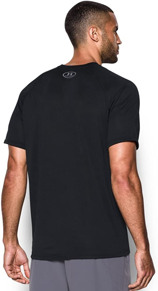 Under Armour Mens Tech Horizon Big Logo Short Sleeve Tee