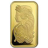 1 oz Gold Bar - PAMP Suisse Lady Fortuna Veriscan