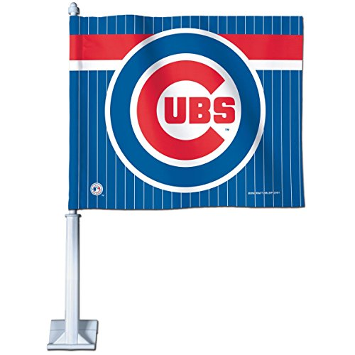 WinCraft MLB Chicago Cubs 86540011 Car Flag, 11.75