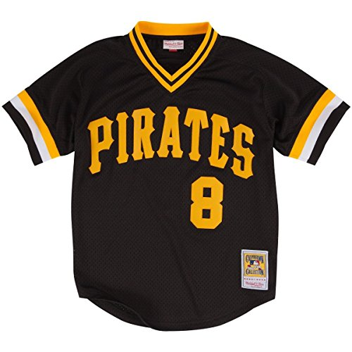 Throwback Mesh (Willie Stargell Pittsburgh Pirates Authentic Mesh Jersey (XXL - 52))