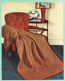Knitted Afghan Blanket Pattern Knitting ebook