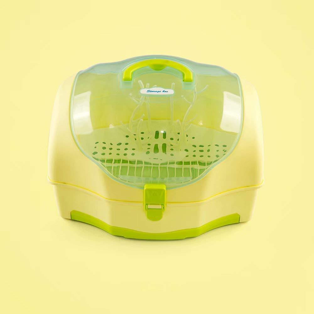 Bottle Holder Baby Storage Box Plastic Baby Milk Powder Box Children dust Drying Rack -37.527.523.5cm