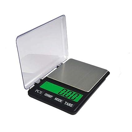 DUDDP Básculas de Cocina Báscula de Cocina de Bolsillo Mini 0.01 g Té Escala de joyería
