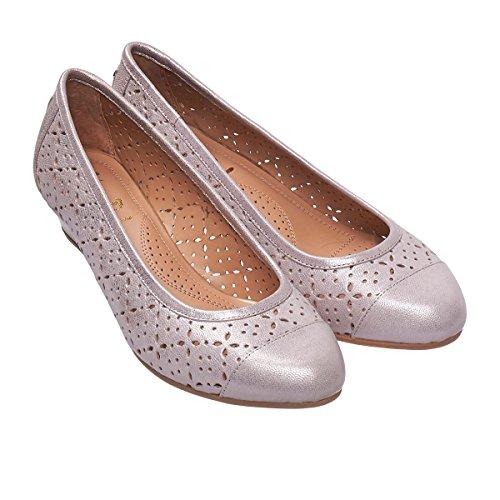 Dal Bamboo 2672 Cuña Mujer Metallic Zapatos Van De UYpOWdHpP