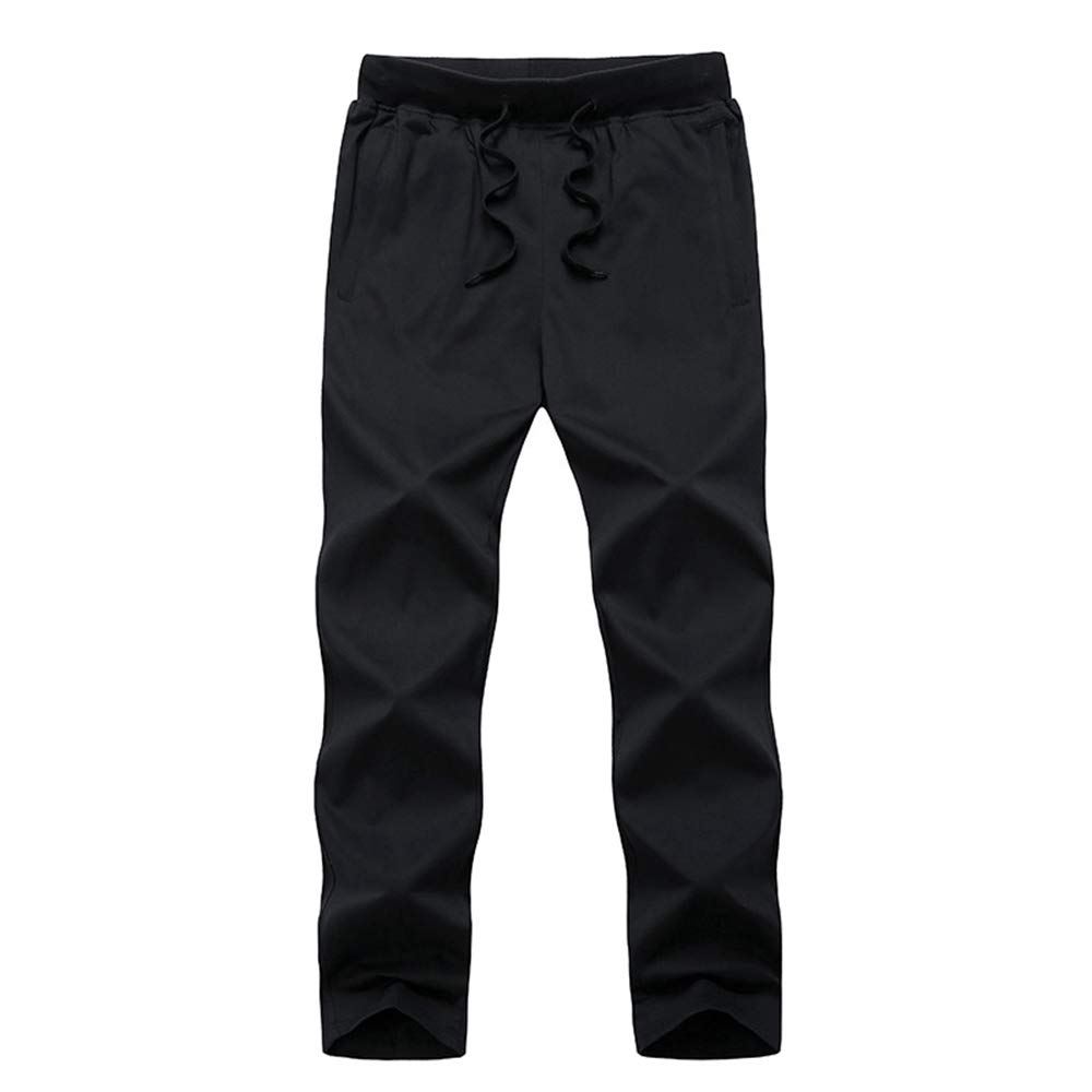 QSQKI Summer Pants Male Special Large Thin Section Summer Long Pants Cotton