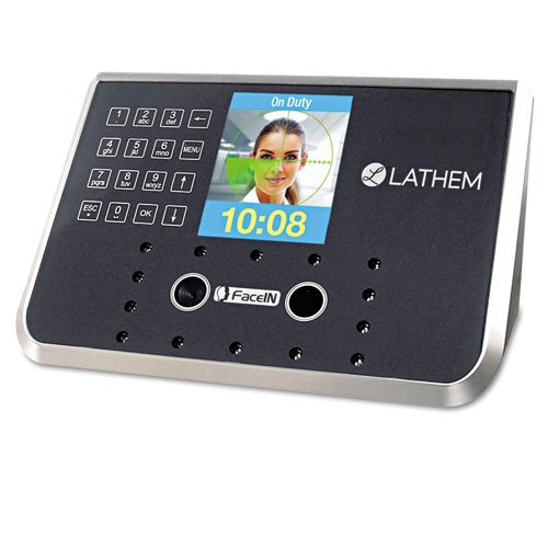 Lathem Time - Face Recognition Time Clock System. 500 Employees, Gray, 7-1/4 x 3-1/2 x 5-1/4 FR650-KIT (DMi EA