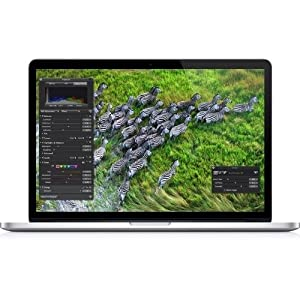 "Apple MacBook Pro ME664LL/A Intel Core i7-3635QM X4 2.4GHz 8GB 256GB 15.4"",Silver(Scratch and Dent)"