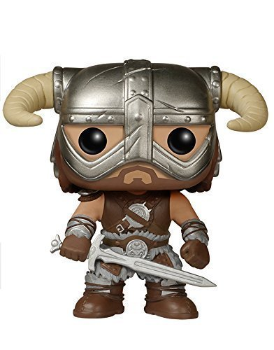 FunKo POP Games  Skyrim - Dovahkiin Toy Figure by Pro-Motion Distributing - Direct by Pro-Motion Distributing - Direct