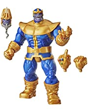 Marvel Hasbro Legends Series 6-inch Collectible Action Figure Thanos Toy, Premium Design and 3 Accessories