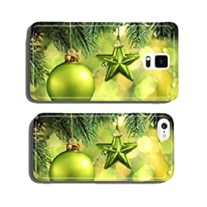 Christmas tree decoration cell phone cover case Samsung S5