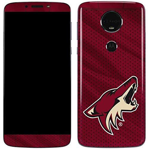 - Skinit NHL Arizona Coyotes Moto E5 Plus Skin - Phoenix Coyotes Home Jersey Design - Ultra Thin, Lightweight Vinyl Decal Protection