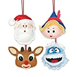 Dimensions Needlecrafts 72-08285 Dimensions Rudolph Felt Applique Ornament Kit