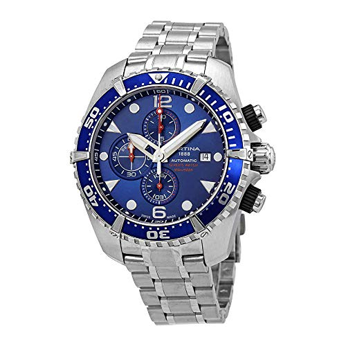 - Certina DS Action Chronograph Automatic Blue Dial Mens Watch C032.427.11.041.00