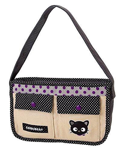 Canvas Baguette Handbag (Chococat Canvas Small Handbag Bag)