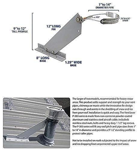 Amazon.com: ventsaver p-383 Nieve Guardia ventilación Pipe ...