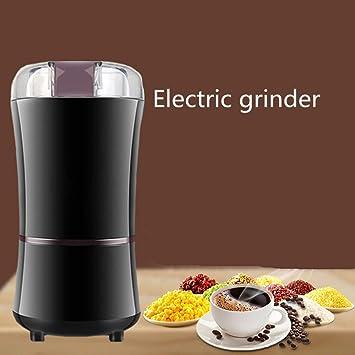 MDD Cafetera casera, Molinillo eléctrico de café en grano ...