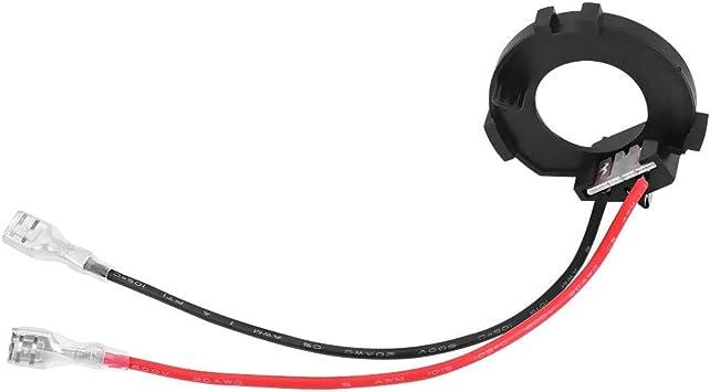 H7 Led Lampen Adapter Keenso 1 Paar Scheinwerfer Lampensockelhalter Adapter H7 Fassungen Auto