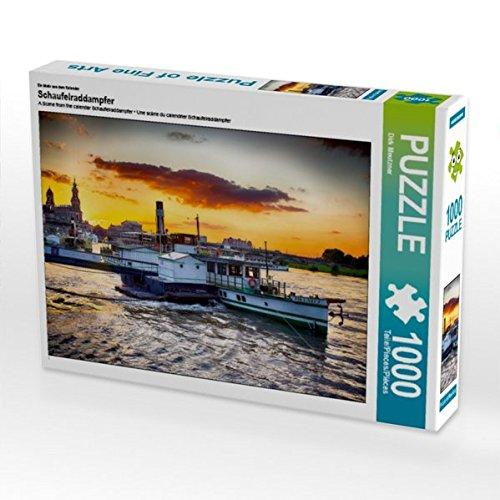 Ein Motiv aus Dem Kalender Schaufelraddampfer 1000 Teile Puzzle Quer