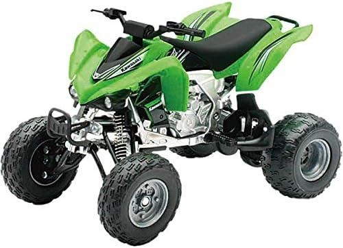NewRay 1/12 スケールモデル Kawasaki KFX450R グリーン [並行輸入品]