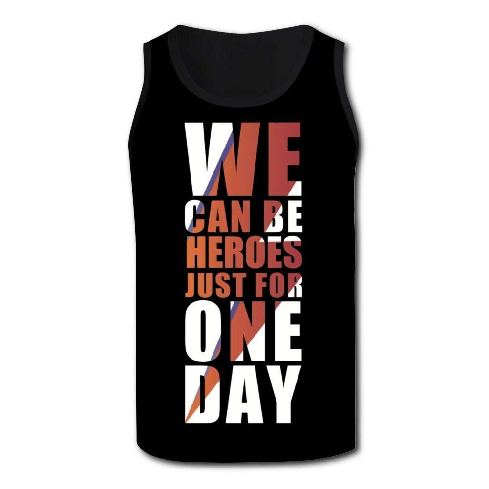 Herbert13 David Bowie,Athletic Tank Tops for Men T-Shirt