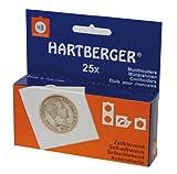 Lindner 8321030 HARTBERGER®-Coin holders-pack of 1000