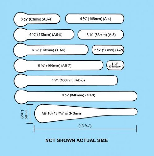 Plastalume Kits Size: Number 54 Digital Kit by Brown Medical