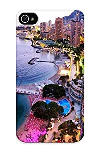 Monte Carlo Case Compatible With Iphone 4/4s/ Hot Protection Case(best Gift Choice For Lovers)