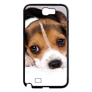 Unique Case for Samsung Galaxy Note 2 N7100 - Cute dog ( WKK-R-78582 )