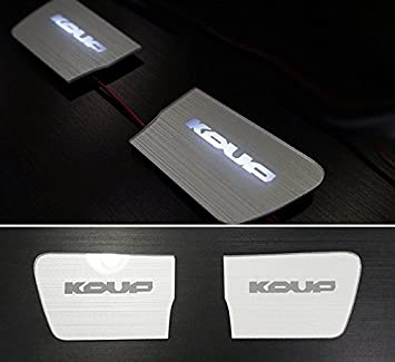 2Way White Red LED Trunk Emblem For KIA Forte Koup 2009 2013