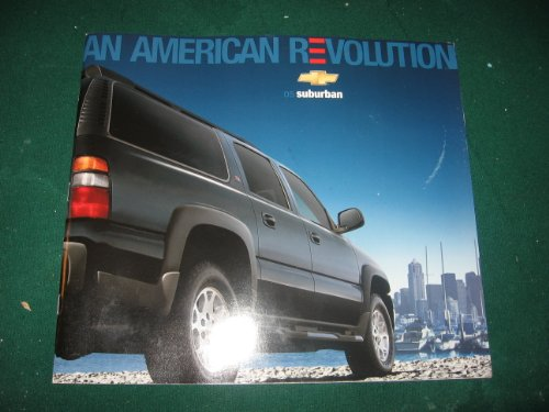 (2005 Chevy Suburban Dealer Sales Brochure with CD )