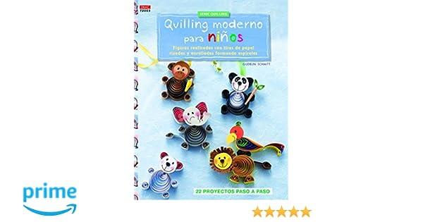 Crea Con Patrones. Serie Quilling. Quilling Moderno Para Niños - Número 3 Cp - Serie Quilling drac: Amazon.es: Gudrun Schmitt, Aleyda Cardona, María Helena ...
