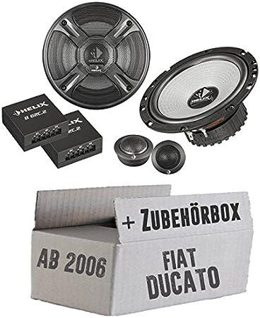Fiat Ducato 250 Front Helix B 62 C 2 16 Cm 2 Way Speaker System Mounting Kit Navigation Car Hifi