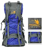 FREE KNIGHT Water Resistant Nylon Mountaineering Travel Hiking Backpack