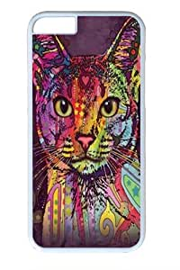 Abyssinian Cat PC For Iphone 6 Phone Case Cover White