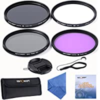 K&F Concept 72mm Super Slim UV Slim CPL Circular Polarizing FLD Slim Fader Variable ND Neutral Density Adjuatabe ND2-ND400 Lens Filter Kit For Canon NIkon Simga Tamron Camera lens