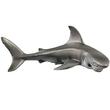 1 Pieza de Figuras de tiburón Sonriente para decoración de Acuario ...