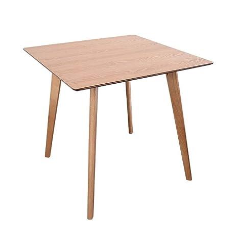Tavolo quadrato da pranzo e sedia Tavolo da pranzo quadrato