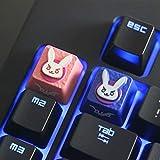 Mugen DVA Pink Custom Overwatch Gaming Keycaps for