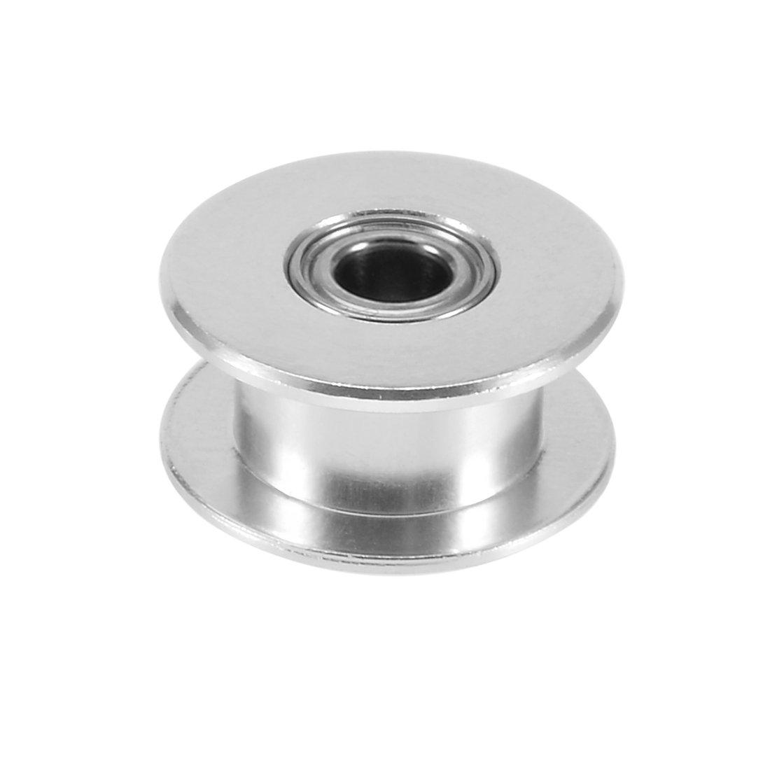 sourcingmap® Aluminium Umschaltrad GT2 for 6mm Draht Zahnriemen 5mm Bohrung für 3D-Drucker a17041300ux0111