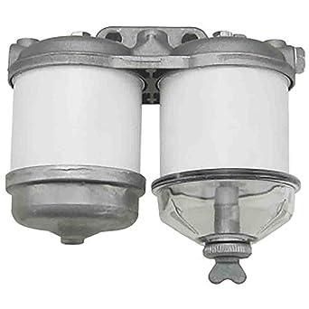 amazon com: rapartsinc cav fuel filter assembly ford 7610 5000 5610 6610  6600 4000 4110: industrial & scientific