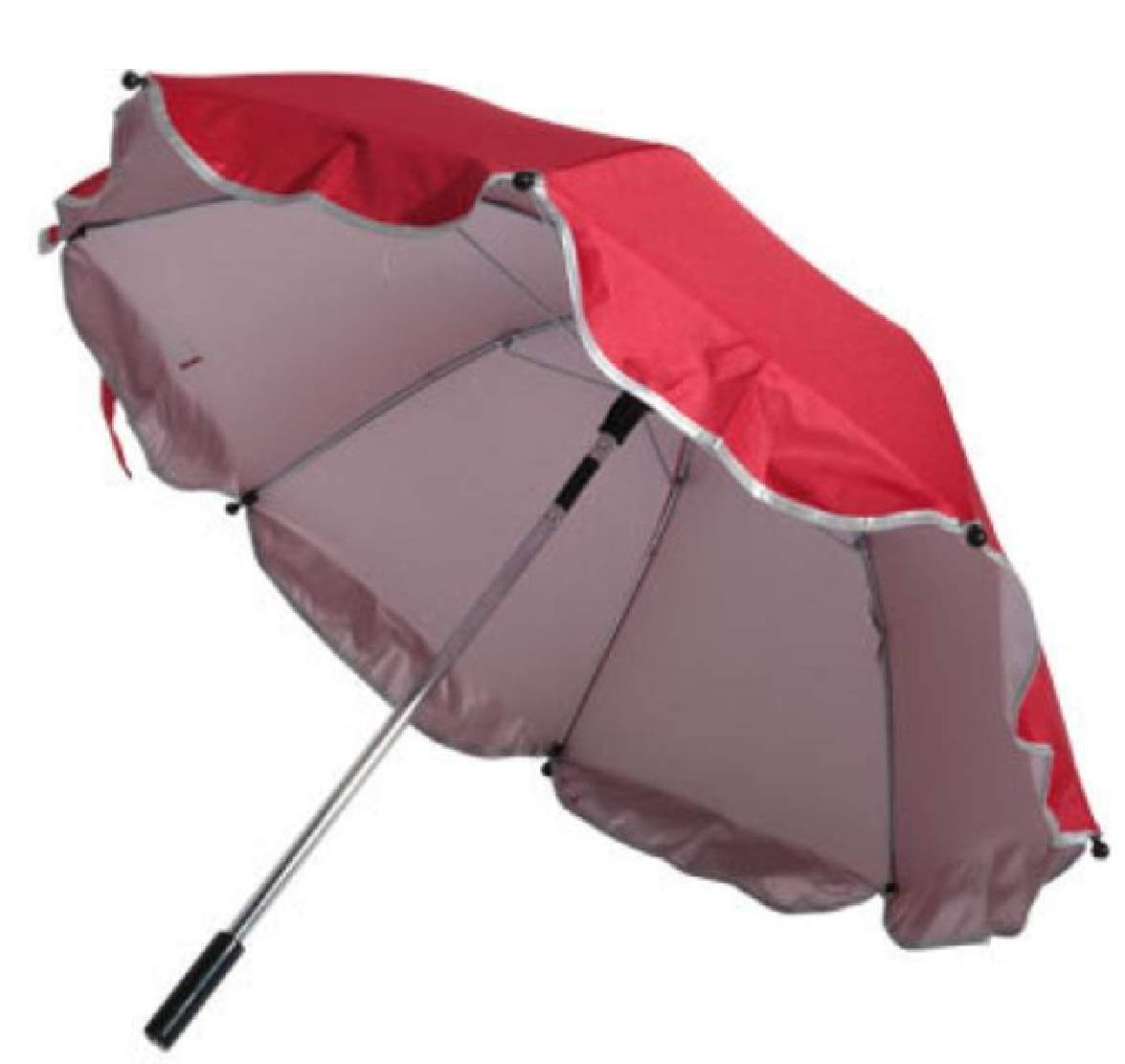 Silfrae Baby Stroller Umbrella UV Rays Umbrella Rainproof Parasol (Red) by Silfrae