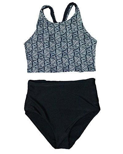MOOSKINI Womens Waisted Bikini Bathing