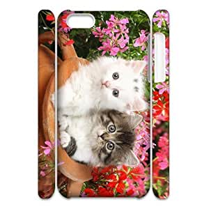 ALICASE Design Diy hard Case Lovely Cat For Iphone 4/4s [Pattern-1]