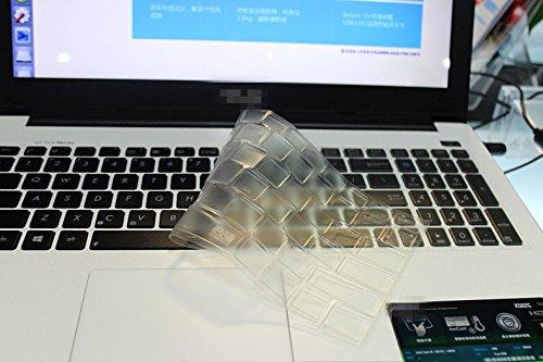 High Clear Transparent Tpu Keyboard Cover protectors skin guard For ASUS N56 N56VZ N56JN N56JR 15.6-inch