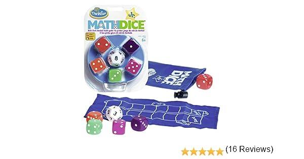Think Fun- Math Dice Jr. Juego de Habilidad (Ravensburger 76327 ...
