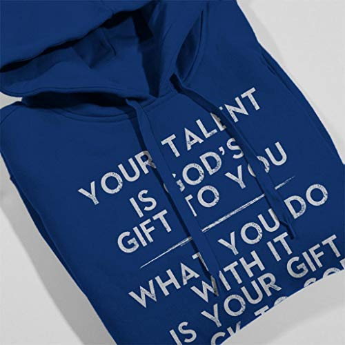 Your Hooded To Royal You Gift Is Women's Blue Gods Sweatshirt Talent r0xq7gr